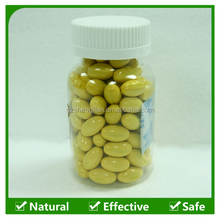 OEM Food Supplement Korean Red Ginseng Extract Gold softgel Capsule