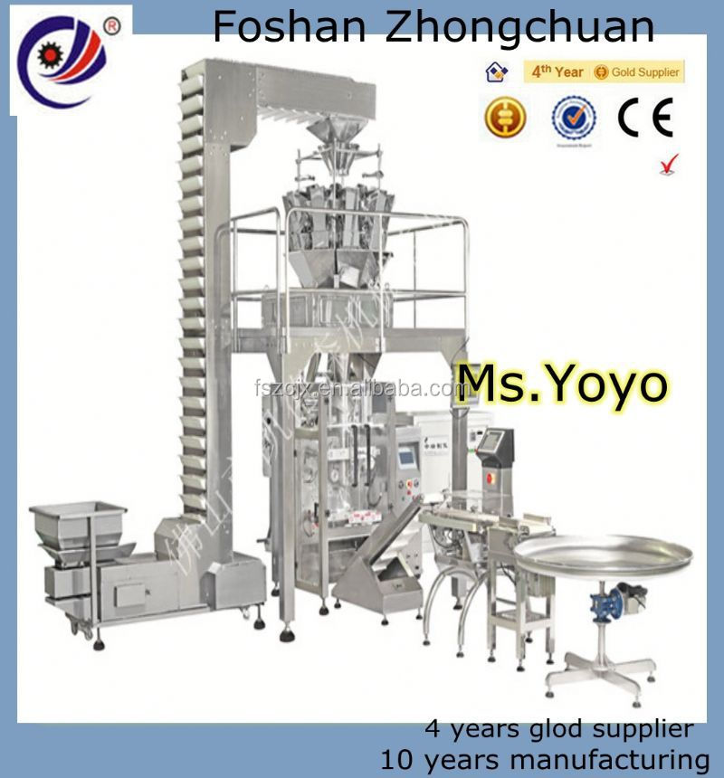 Pneumatic Driven PLC Control Automatic Multi lane Sugar Stick Packing Machine For Instant Coffee,Sugar