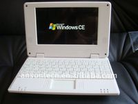 7 inch Android 2.2/windows CE 6.0 mini laptop notebook with WiFi