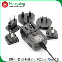 9V2A AC/DC Adapter 18W Switching power adapter with UL CUL GS CE SAA approved ( 3years warranty )