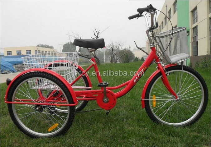 3 wheel bicycl Adult cargo tricycle with high quality