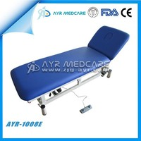 AYR-1008E Cheap Adjustable Electric Physiotherapy Bed