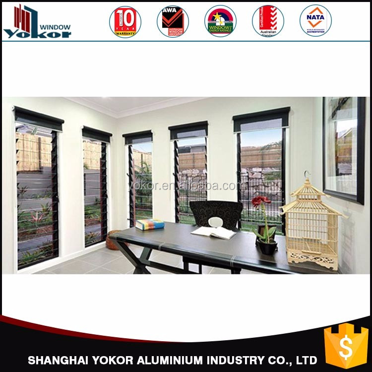 Hot China Factory Price Import yokor aluminium louvre window