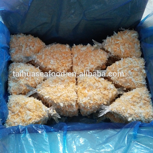New produced breaded cod fish frozen products for export