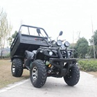 China water cooling 4 stroke farm utility gas 250CC 4x2 ATV with trailer