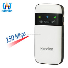 Pocket Hotspot 4G LTE Wireless WiFi Modem Router Mini 3G 4G GSM Router with Sim Card Slot
