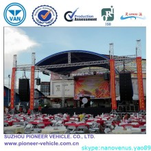 2015 Galvanized Concert stage roof truss(ISO Approved)