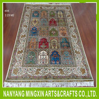 Popular wholesales chinese handmade silk carpet