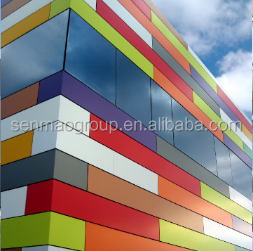 2016 high quality alucobond aluminium composite panel jakarta for wall cladding from China