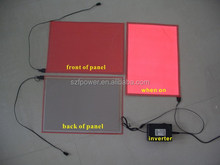 A5 El panel electroluminescent BackLight Board Display with DC 12V Inverter