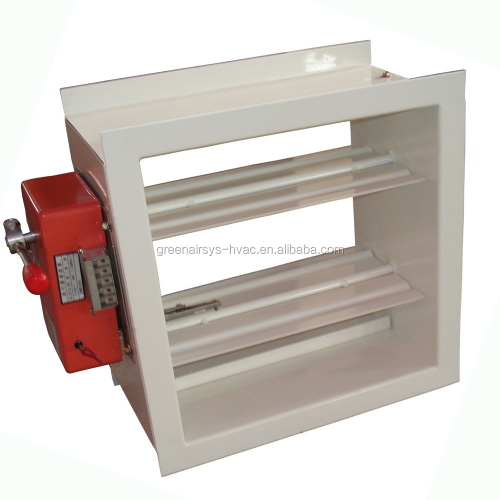 Motorized Volume Control Damper For Duct View Motorized