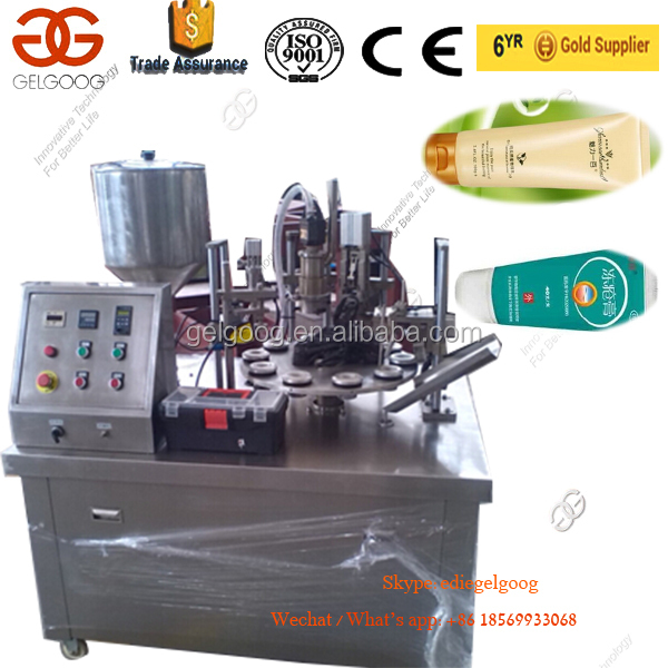 Cosmetic Cream Filler Paste Filling And Sealing Machine Soft Tube Sealer