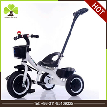 Baby Tricycle with Push Bar, Safety Belt and Footrest for Wholesale, Kids' Trike Ride on Car Toys