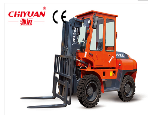 CPCY-40 Forklift four-wheel drive/Four Wheels Electric carry-scraper/transportation vehicle