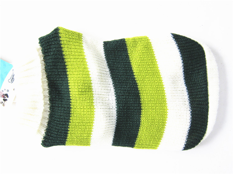 Shilee Warm Colorful Pet Cheap Clothes Knit Sweaters for Large And Small Dogs