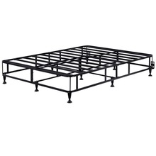 Home Steel Queen size Folding box spring bed frame