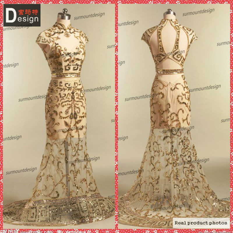 2014 Real Sample Elie Saab God Mermaid Sexy Evening Dresses For Red Carpet And Online Shopping Sale In China