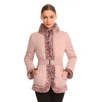Best Quality Professional Elegant Europe Style Winter Pink Jacket Shop
