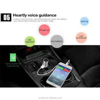 2016 best gift top-grade car charger for iphone with mini earphone