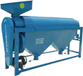 Automatic milky kidney bean polishing machine for farm