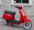 2016 most hot sale vespa vintage scooter