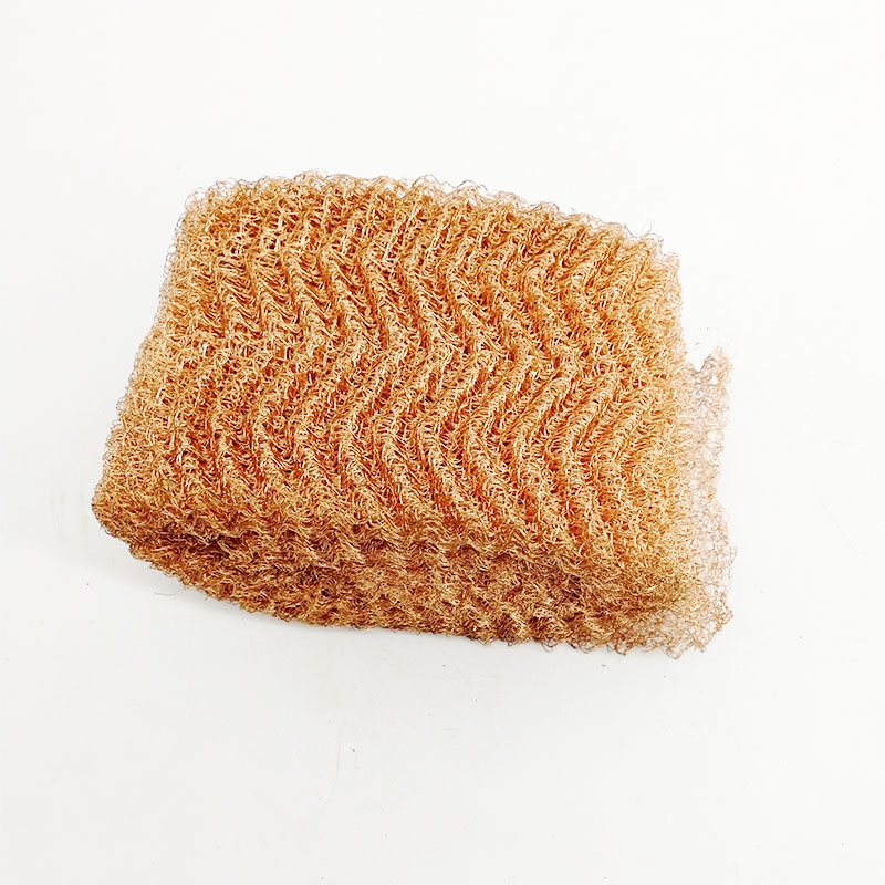 0.1mm 0.12mm 0.15mm Knitted Copper Wire Mesh for Distillation