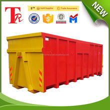 heavy duty Customized RoRo bin hook lift container with cover