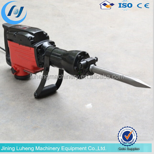 LHH electric chipping hammer/1700w electric demolition hammer/65mm demolition hammer