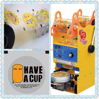 Easy peel off Cups sealing/lidding film PP/PS plastic cups