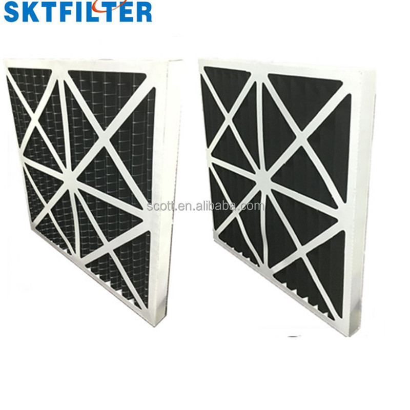 Cardboard Frame Primary Hvac 2015 New industrial air conditioner cardboard frame panel air filter