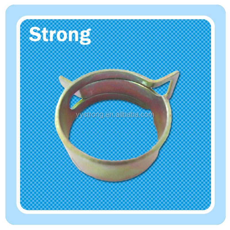 Low cost stainsteel steel elastic ring clamp spring clamp