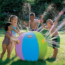 play on Lawn large kids soft plastic play ball for kids