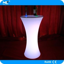 High cost performance LED cocktail table LED bar furniture for sale
