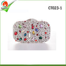 CT023-1 fashion crystal bags and clutches with high quality 2016