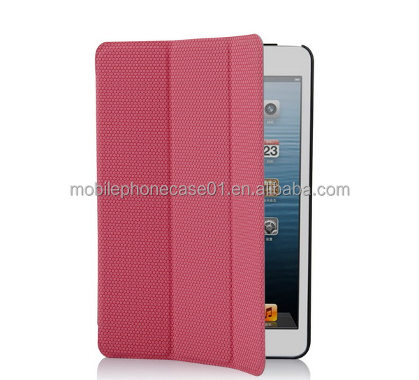 High Quality Waterproof and Shockproof leather case cover for slim ipad mini