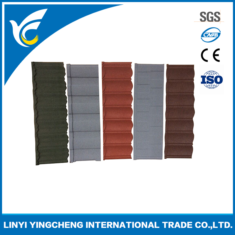 High Quality Stone Coated Metal Roof Tiles