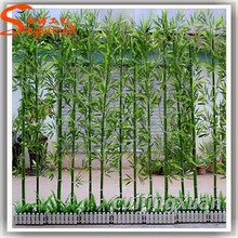 Indoor/Outdoor silk bamboo artificial bamboo tree fake plastic bamboo poles wholesale cheap bamboo plant