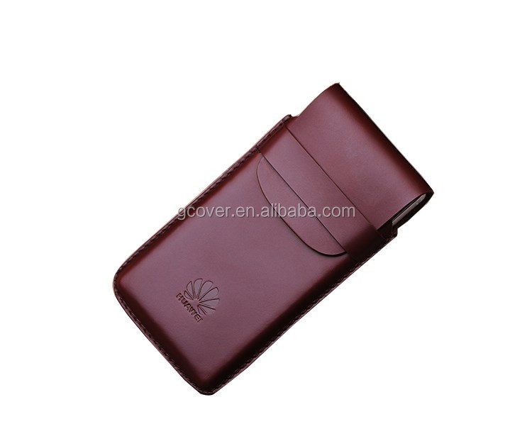 High quality universal vertical leather pouch case for Huawei Mate8