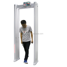 full body scanner walk through security metal detector.12 zone walk through metal detector