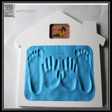 Hot sale baby handprint and footprint impression clay kit