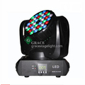 Mini led beam moving head light rgbw 36x3w the brightest beam led lighting equipment
