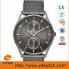 Japan movt quartz watch stainless steel back,Japan movement watch stainless steel back