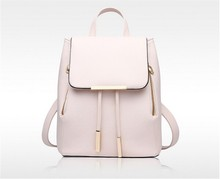 Women Backpack High Quality PU Leather Mochila Escolar School Bags For Teenagers Girls Leisure Backpacks Candy Color