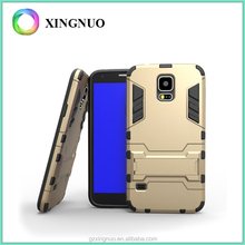 Armor case for Samsung Galaxy S5 hybrid and kickstand new product 2016