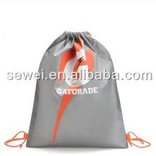 custom print promotional Polyester 210d drawstring backpack bags