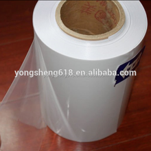 High quality PE pe cling film and electrostatic film with high transparency for glasses
