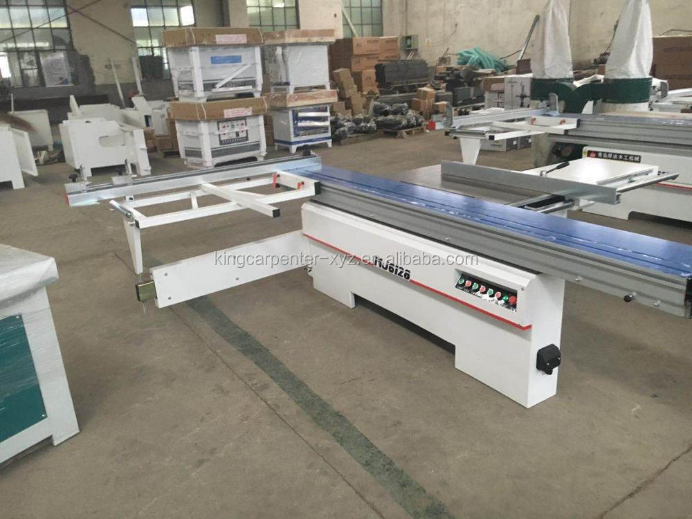 Woodworking Saw Machine Sliding Table Saw Precision Panel Saw With 2 Saw Blades Both Can Titling 45 degree 3800mm Long