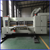 Dongguang corrugated cardboard printing machine , automatic 4 colors printer & rotary die cutter with slotting attachment