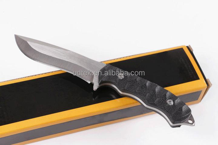 OEM popular brand fixed hunting blanks knife blade with ABS handle