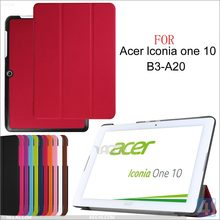 Tri Fold PU Leather Case for ACER Iconia One 10 B3 A20